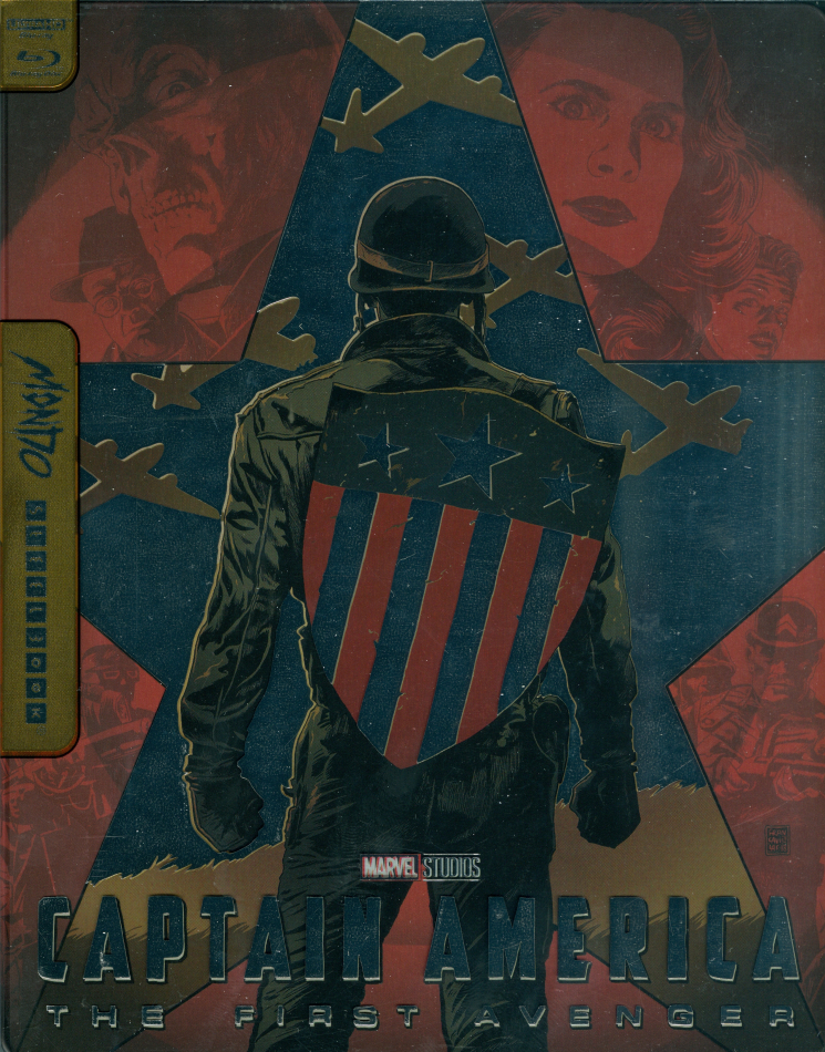 Captain America - The First Avenger (2011) (Mondo, Limited Edition, Steelbook, 4K Ultra HD + Blu-ray)