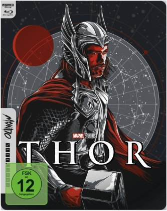 Thor (2011) (Mondo, Limited Edition, Steelbook, 4K Ultra HD + Blu-ray)
