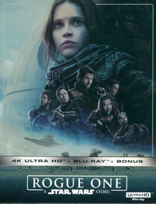 Rogue One - A Star Wars Story (2016) (Édition Limitée, Steelbook, 4K Ultra HD + 2 Blu-ray)