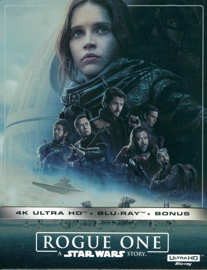 Rogue One - A Star Wars Story (2016) (Limited Edition, Steelbook, 4K Ultra HD + 2 Blu-rays)