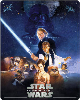 Star Wars - Episode 6 - Le retour du Jedi / Return of the Jedi (1983) (Édition Limitée, Steelbook, 4K Ultra HD + 2 Blu-ray)