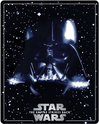 Star Wars - Episode 5 - L'empire contre-attaque / The Empire Strikes Back (1980) (Limited Edition, Steelbook, 4K Ultra HD + 2 Blu-rays)