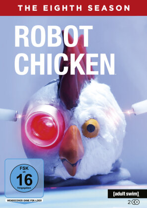 Robot Chicken - Staffel 8 (2 DVDs)