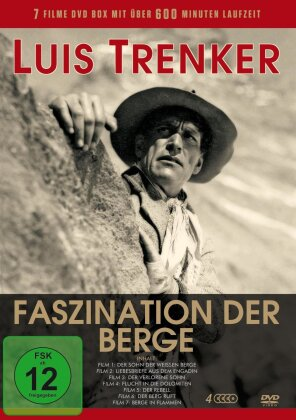 Luis Trenker - Faszination der Berge (4 DVDs)