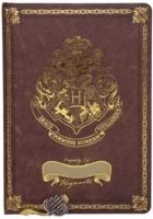 Harry Potter - Harry Potter A5 Chunky Foil Notebook Burgundy - Crest & Customise