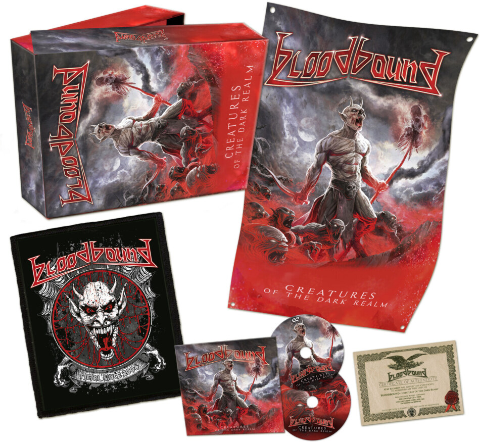 Bloodbound - Creatures Of The Dark Realm (Limited Boxset, CD + DVD)