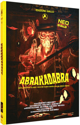 Abrakadabra (2018) (Edizione Giallo, Cover B, Limited Edition, Mediabook, Blu-ray + DVD + CD)
