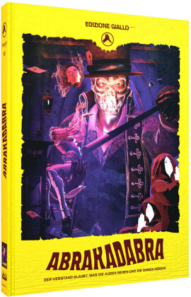 Abrakadabra (2018) (Edizione Giallo, Cover C, Limited Edition, Mediabook, Blu-ray + DVD + CD)