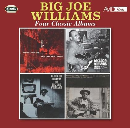 Big Joe Williams - Four Classic Albums (2 CDs)