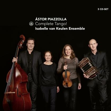Astor Piazzolla (1921-1992) & Isabelle van Keulen Ensemble - Complete Tango! (3 CDs)