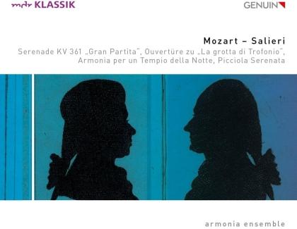 Armonia Ensemble, Wolfgang Amadeus Mozart (1756-1791) & Antonio Salieri (1750-1825) - Mozart & Salieri