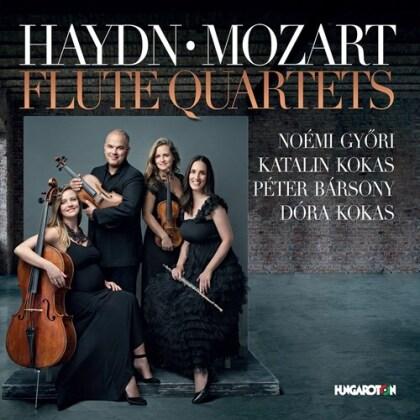Katalin Kokas, Péter Bársony, Dora Kokas, Joseph Haydn (1732-1809), Wolfgang Amadeus Mozart (1756-1791), … - Flute Quartets