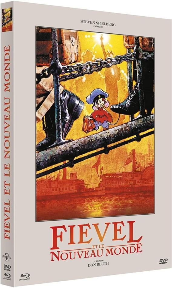 Fievel et le Nouveau Monde (1986) (Digibook, Blu-ray + DVD)