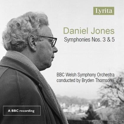 Daniel Jones (1912-1993), Bryden Thomson & BBC Welsh Symphonc Orchestra - Symphonies 3 & 5 (Hybrid SACD)