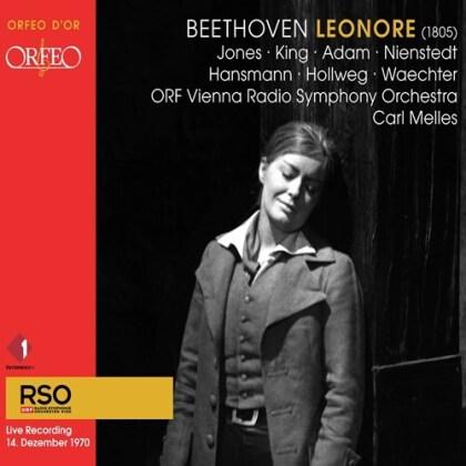 Ludwig van Beethoven (1770-1827), Carl Melles & ORF Vienna Radio Symphony Orchestra - Leonore (1805) (Hybrid SACD)
