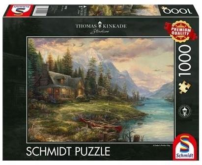 Thomas Kinkade: Ausflug am Vatertag - 1000 Teile Puzzle