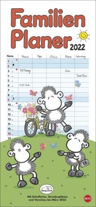 sheepworld Familienplaner Kalender 2022