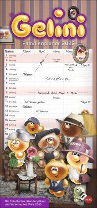 Gelini Familienplaner Kalender 2022