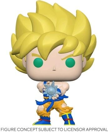 Funko Pop Animation - Dragon Ball Z: SS Goku with Kamehameha Wave Diamond Glitter (Latam Exclusive)