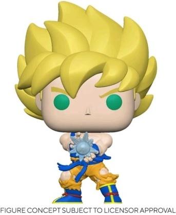 Funko Pop Animation - Dragon Ball Z: SS Goku with Kamehameha Wave (Latam Exclusive)
