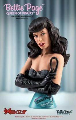 Executive Replicas - Bettie Page V2 Queen Of Pinups 3/4 Bust (Naughty B