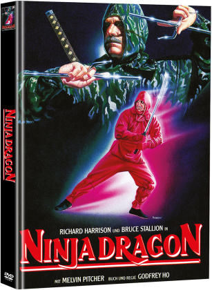 Ninja Dragon (1986) (Cover A, Limited Edition, Mediabook, 2 DVDs)