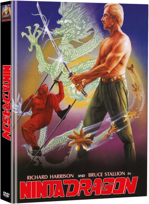 Ninja Dragon (1986) (Cover B, Limited Edition, Mediabook, 2 DVDs)