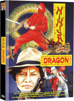 Ninja Dragon (1986) (Cover C, Limited Edition, Mediabook, 2 DVDs)