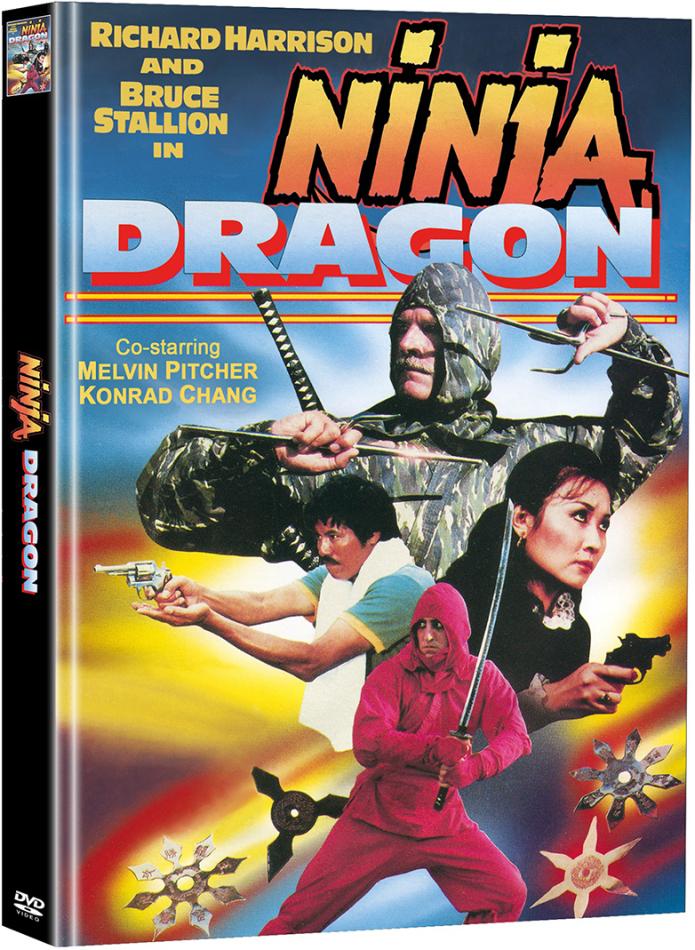 Ninja Dragon (1986) (Cover D, Limited Edition, Mediabook, 2 DVDs)