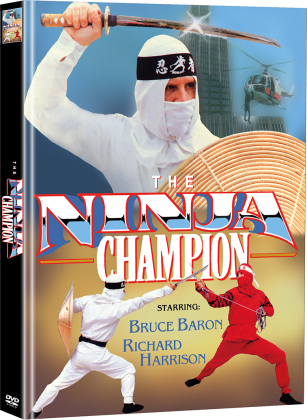 The Ninja Champion (1986) (Cover C, Limited Edition, Mediabook, 2 DVDs)