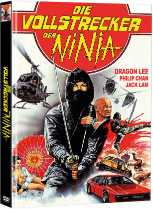 Die Vollstrecker der Ninja (1982) (Cover A, Limited Edition, Mediabook, 2 DVDs)