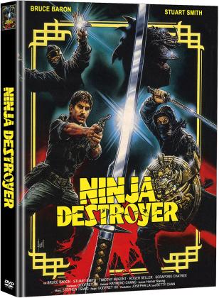 Ninja Destroyer (1986) (Cover A, Limited Edition, Mediabook, 2 DVDs)