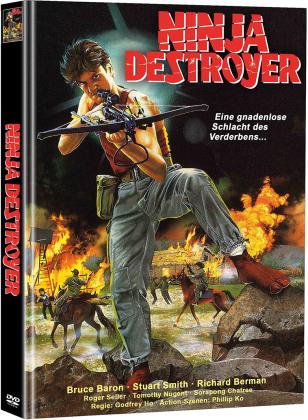 Ninja Destroyer (1986) (Cover B, Limited Edition, Mediabook, 2 DVDs)