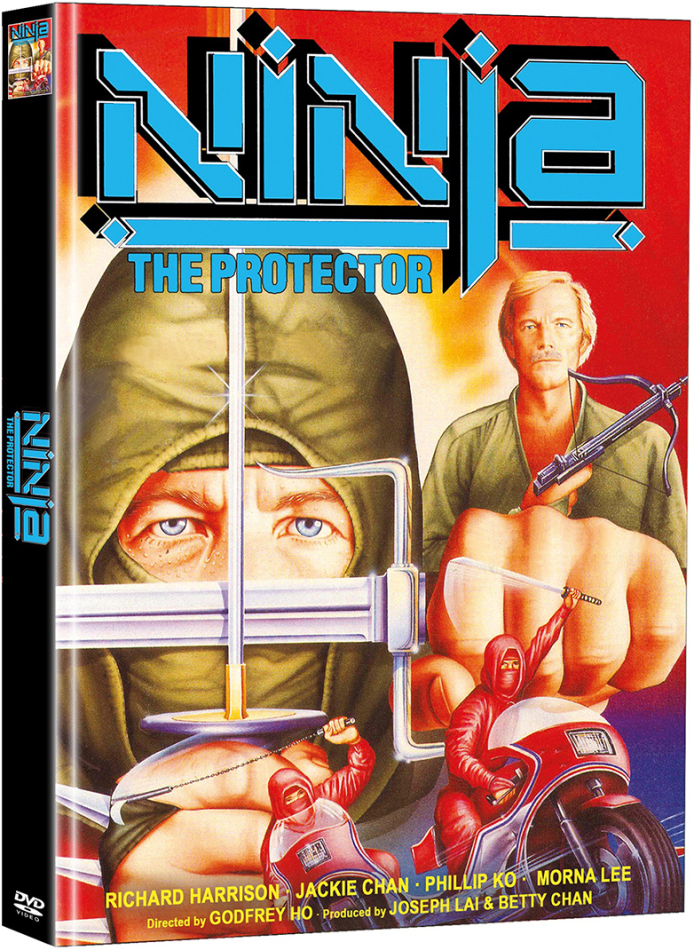 Ninja the Protector (1986) (Cover C, Limited Edition, Mediabook, 2 DVDs)