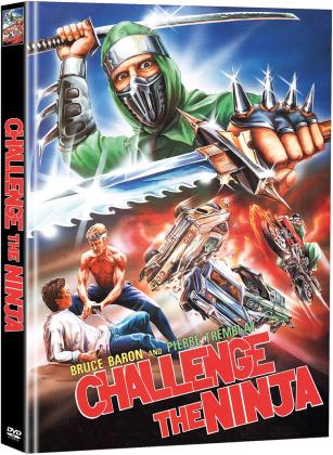 Challenge the Ninja - Die Herausforderung der Ninja (1986) (Cover B, Limited Edition, Mediabook, 2 DVDs)