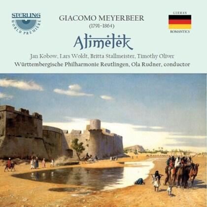 Giacomo Meyerbeer (1791-1864), Ola Rudner, Jan Kobow, Lars Woldt, Britta Stallmeister, … - Alimelek (2 CDs)