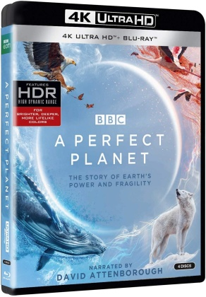 A Perfect Planet (BBC, 2 4K Ultra HDs + 2 Blu-ray)