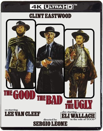 The Good, the Bad and the Ugly (1966) (4K Ultra HD + Blu-ray)