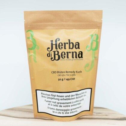 Herba di Berna Remedy Kush (50g) - Greenhouse (CBD: 15% THC 0.56%%)