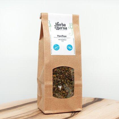 Herba di Berna Hanftee 50g - CBD-Tee mit purem Hanfgeschmack