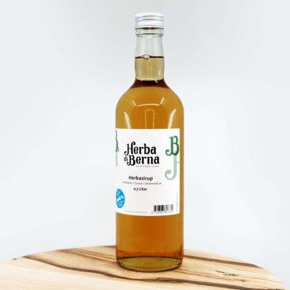 Herba di Berna Herbasirup in der Flasche 7dl - Herber CBD-Sirup