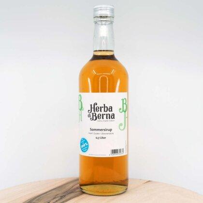 Herba di Berna Sommersirup in der Flasche 7dl - Erfrischender CBD-Sirup