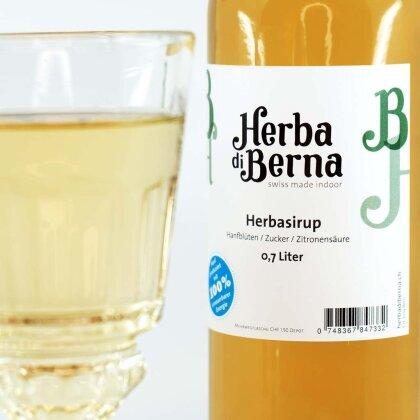 Herba di Berna Herbasirup in der Box 5l - Herber CBD-Sirup