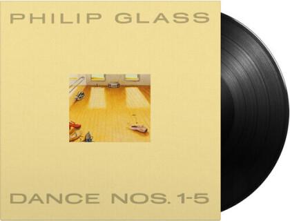 Philip Glass (*1937) & Philip Glass (*1937) - Dance Nos 1-5 (2021 Reissue, Music On Vinyl, 3 LPs)