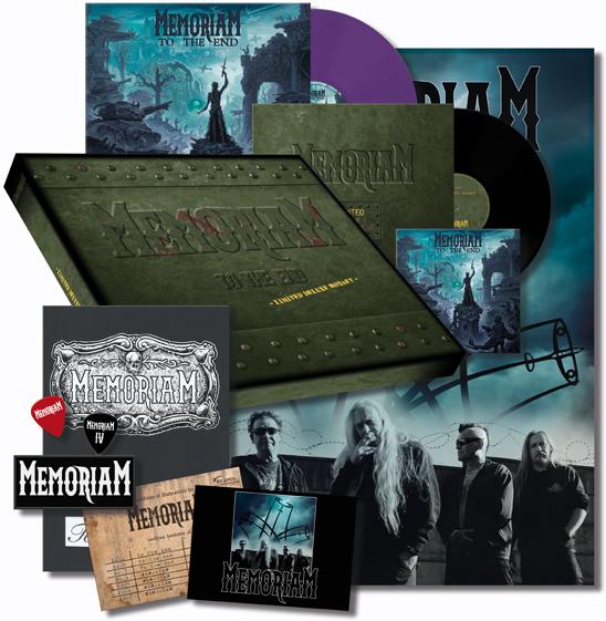 Memoriam - To The End (Plastichead Exclusive, Boxset, Limited Edition, LP)