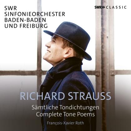 Richard Strauss (1864-1949), François-Xavier Roth & SWR Sinfonieorchester Baden-Baden und Freiburg - Complete Tone Poems (5 CDs)