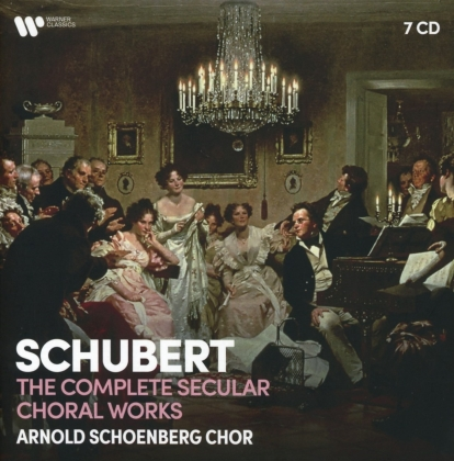 Arnold Schoenberg Choir & Franz Schubert (1797-1828) - Complete Secular Choral Works (7 CDs)