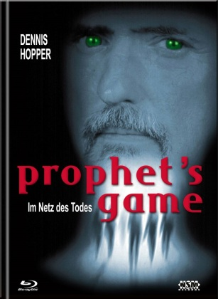 Prophet's Game - Im Netz des Todes (2000) (Cover A, Edizione Limitata, Mediabook, 4K Ultra HD + Blu-ray + DVD)