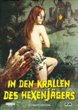 In den Krallen des Hexenjägers (1971) (Cover B, Limited Edition, Mediabook, 4K Ultra HD + Blu-ray + DVD)