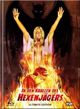 In den Krallen des Hexenjägers (1971) (Cover C, Limited Edition, Mediabook, 4K Ultra HD + Blu-ray + DVD)